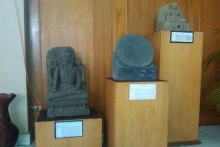 Bberapa temuan yang ditemukan di wilayah DIY di pamerkan