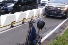Viral, Video Mobil Masuk Jalur Sepeda Permanen di Jalan Jenderal Sudirman
