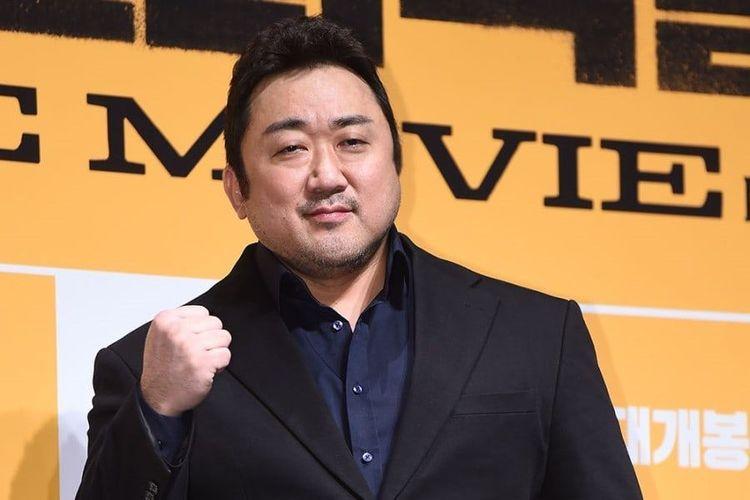 Aktor Korea Ma Dong Seok.