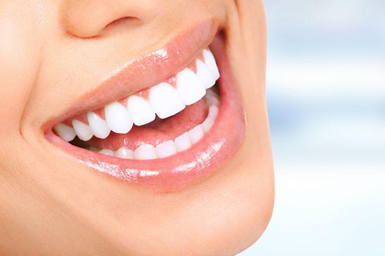 Ilustrasi gigi yang sehat.