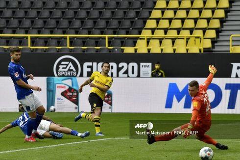 Tak Ada Selebrasi Pemain dan Sorakan Penonton, Pelatih Dortmund Merasa Aneh