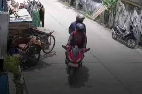 Viral Video Pengendara Motor Sport Curi Kambing Warga Di Bekasi Utara, Polisi Kejar Pelaku