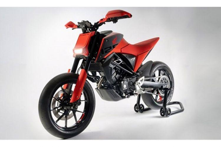 CB125M, motor konsep Honda di EICMA 2018