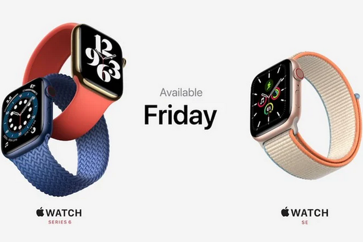 Apple Watch Series 6 dan Apple Watch SE