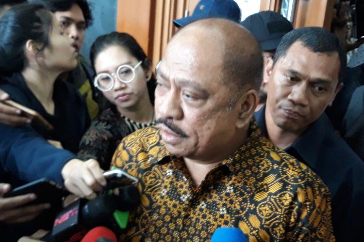 Mantan Ketua Banggar DPR, Melchias Markus Mekeng di Pengadilan Tipikor Jakarta, Senin (19/2/2018).