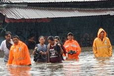 Banjir Jakarta, Warga Kemayoran Meninggal Diduga Tersengat Listrik