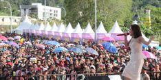 Di Festival Cross Border, Cita Citata Sukses Bikin Entikong