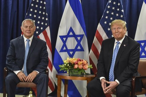 Bersama PM Netanyahu, Trump Umumkan Dataran Tinggi Golan Milik Israel