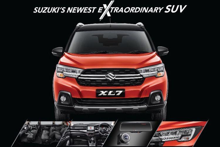 Bocoran Spesifikasi Suzuki XL7 di dunia maya