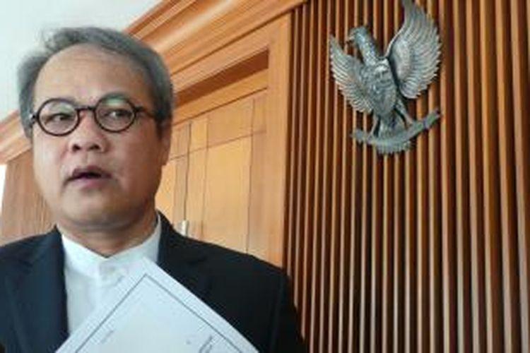 Wakil Ketua Majelis Pemusyawaratan Rakyat Hajriyanto Y Thohari.