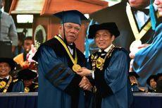 Menteri PUPR Basuki Hadimuljono Dianugerahi Gelar Doktor Kehormatan