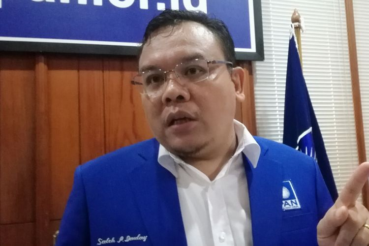 Wakil Sekretaris Jenderal DPP PAN Saleh Partaonan Daulay