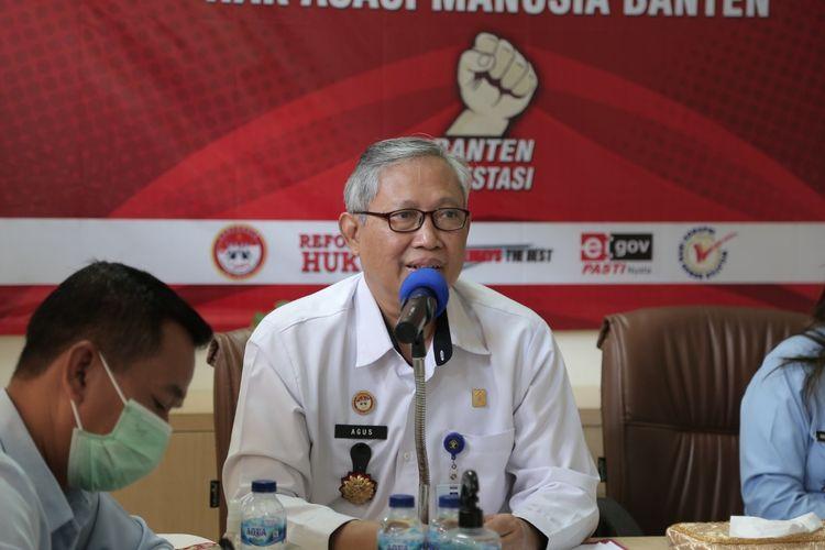 Kepala Kanwil Kemenkumham Banten Agus Toyib