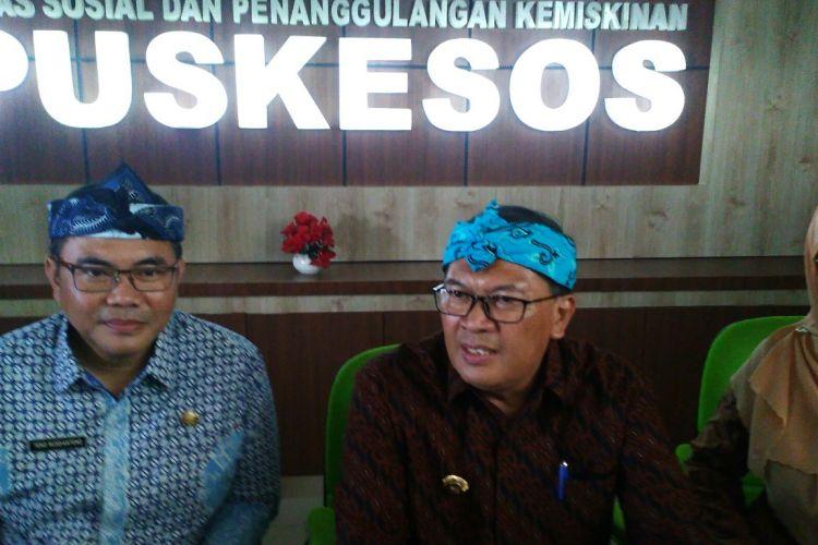 Wali Kota Bandung Oded M Danial meresmikan komplek Pusat Kesejahteraan Sosial (Puskesos) Baru milik Pemerintah Kota Bandung di Rancacili, Kecamatan Rancasari, Kota Bandung, Kamis (27/12/2018).