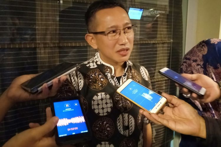 Founder dan CEO Polmark Indonesia, Eep Saefulloh Fatah