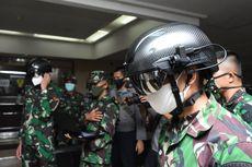 Antisipasi Covid-19, TNI Pakai Helm Pendeteksi Suhu Tubuh dari Jarak 10 Meter