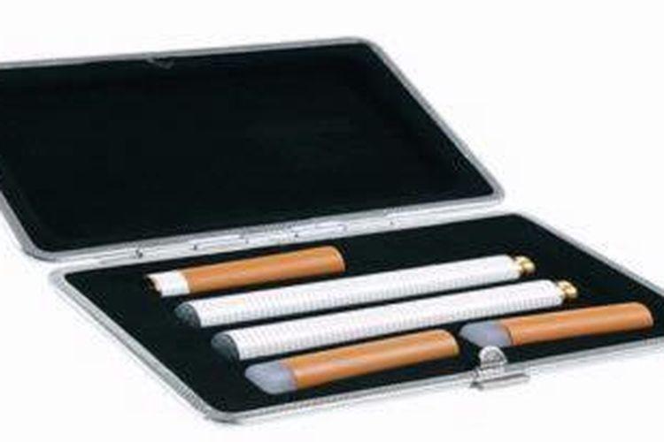 Ilustrasi rokok elektronik