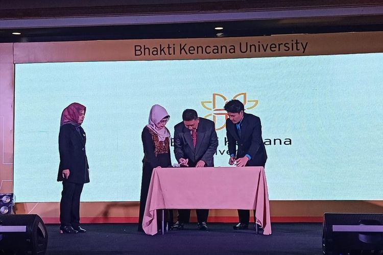 Peresmian Bhakti Kencana University di Bandung, Selasa (23/7/2019).