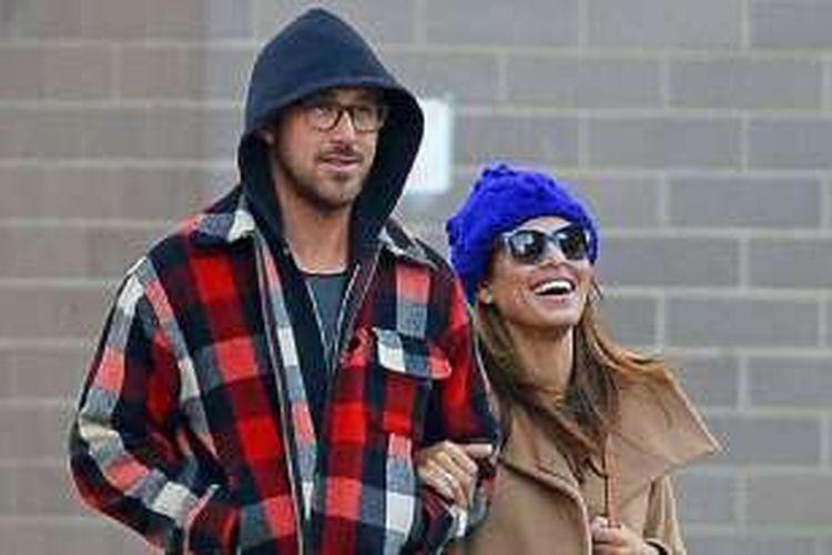 Pasangan Ryan Gosling dan Eva Mendes