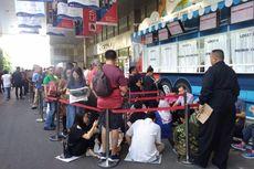 Kompas Travel Fair Digelar, Antrean Pengunjung Mengular Sebelum Gerbang Dibuka