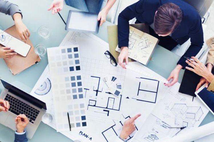 Ilustrasi. Profesi desainer interior harus sudah dikenalkan pada anak sejak dini.
