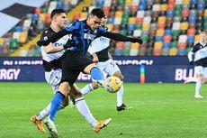 Hasil Udinese Vs Inter Milan, Nerazzurri Gagal Rebut Takhta AC Milan