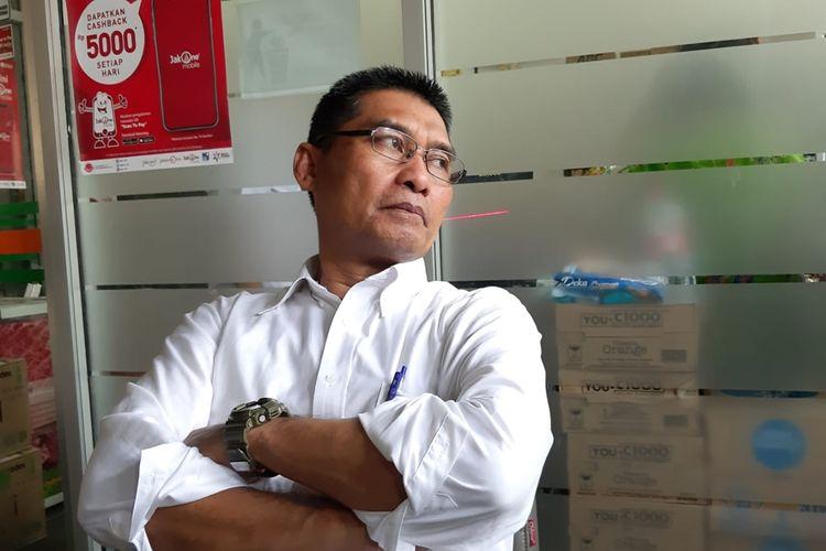 Kepala Dinas Pendidikan DKI Jakarta Ratiyono di Balai Kota, Jakarta Pusat, Selasa (1/10/2019).