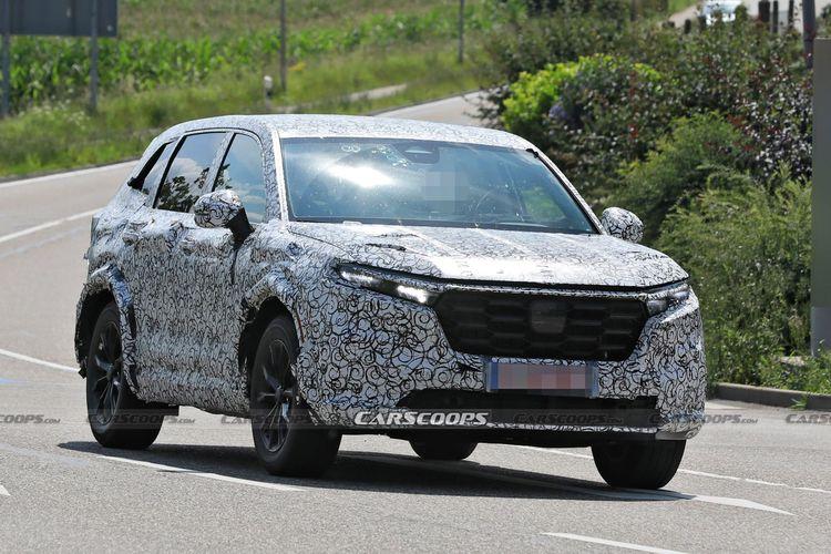Penampakan calon Honda CR-V generasi terbaru.