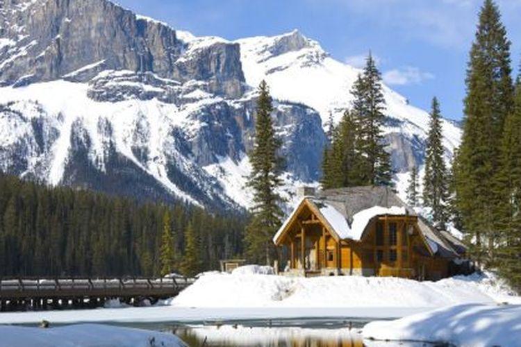 Permandangan Canada di musim dingin