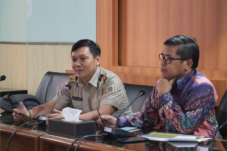 Rapat koordinasi redistribusi tanah Ruang Rapat Menteri LHK, Senin (6/1/2020).