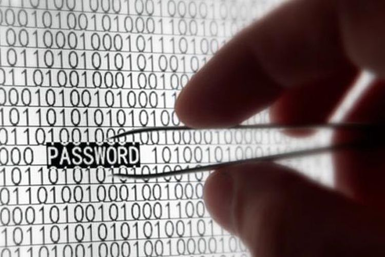 Ilustrasi pencurian data di Internet