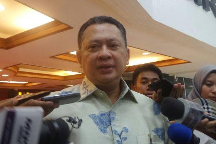 Ketua Komisi III DPR Bambang Soesatyo di Kompleks Parlemen, Senayan, Jakarta, Rabu (7/6/2017).