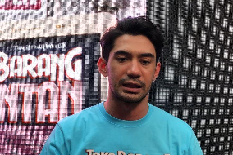 Reza Rahadian saat ditemui di kawasan M Bloc, Jakarta Selatan, Selasa (14/1/2020).