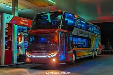 PO Rosalia Indah Tambah Bus Tingkat Saat Larangan Mudik 2021