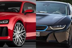 Audi dan BMW Berpacu Mengadopsi Lampu Laser