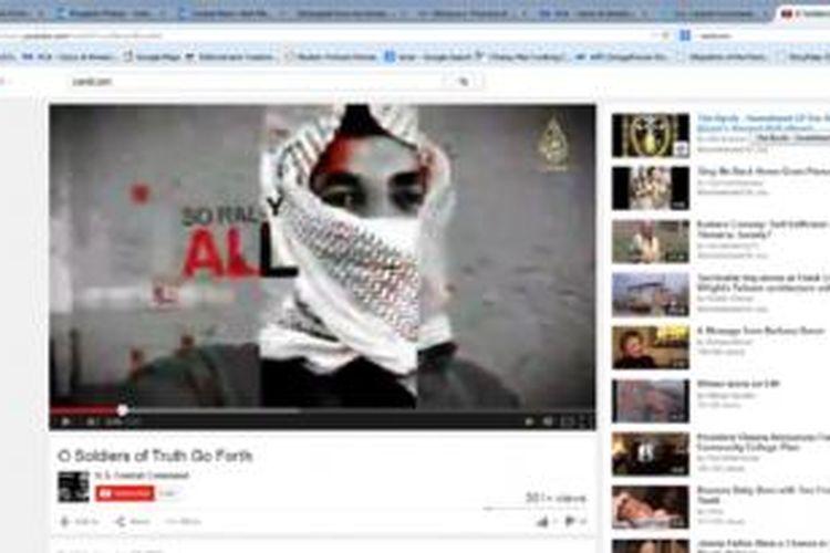 Akun Youtube milik US CentCom dibajak oleh pendukung kelompok militan ISIS, Senin (12/1).