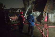 Gudang Terbakar di Bekasi, Motor dan Pikap Ikut Ludes