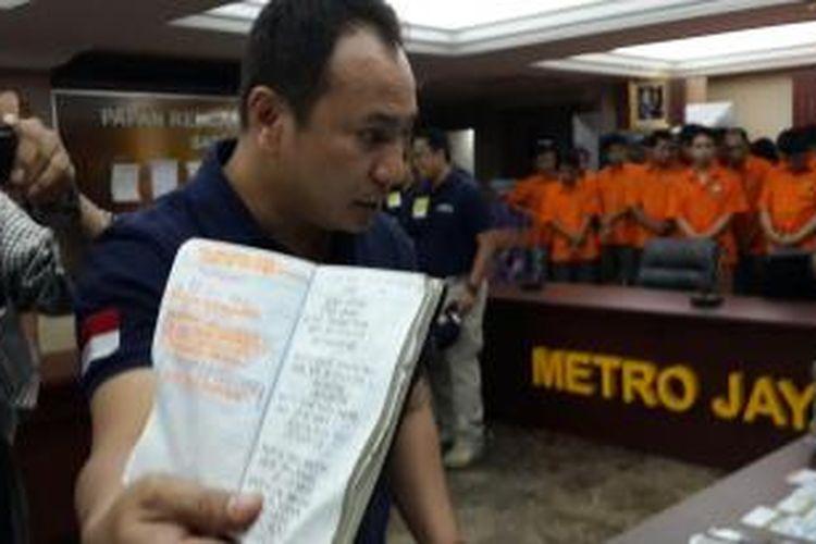 Kasubdit Jatanras Polda Metro Jaya Ajun Komisaris Besar Herry Herryawan