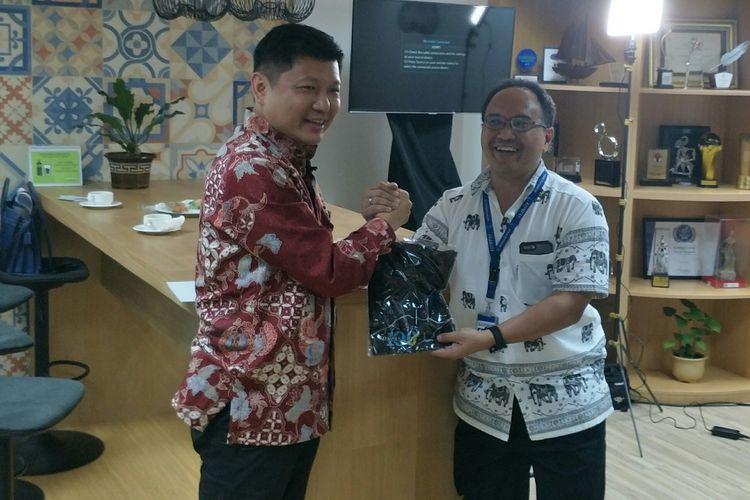 Direktur Utama Sritex Iwan Setiawan Lukminto di Menara Kompas, Jakarta, Selasa (6/8/2019)
