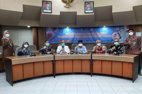 RSUP Dr Sardjito Yogyakarta Kembangkan Terapi Stem Cell untuk Pasien Covid-19