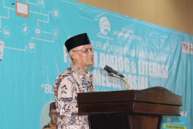 Ketum Muhammadiyah, Haedar Nashir di Bengkulu (Humas Muhammadiyah)