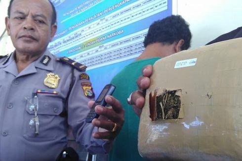 Jual 1,05 Kg Ganja, Residivis Narkoba Ditangkap
