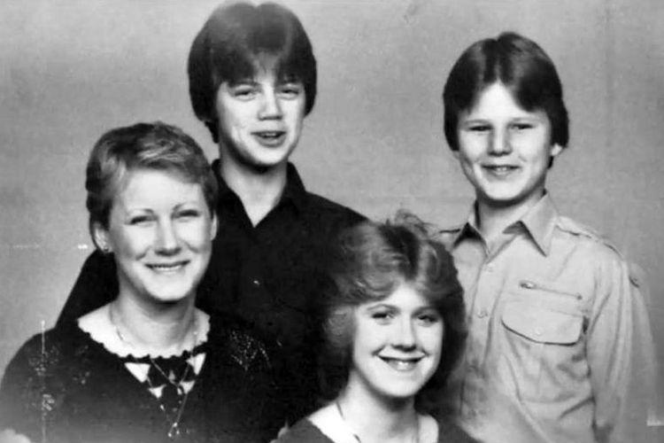 Peggy Carr dan anak-anaknya yang menjadi korban pembunuhan berencana George Trepal.