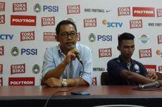 Pelatih Arema FC Puji Penampilan Pemainnya