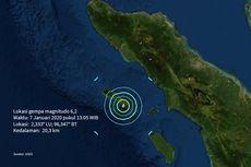 BMKG: Simeulue Memang Rawan Gempabumi dan Tsunami