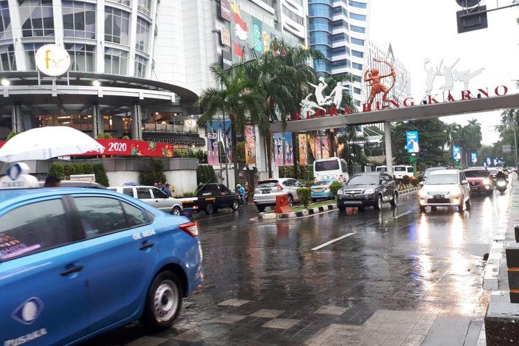 Jalan Pintu Senayan , Selasa (17/12/2019)
