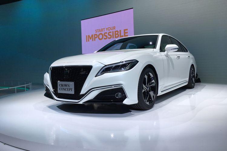 Crown Concept tetap diandalkan jadi mahkota Toyota di segmen sedan mewah
