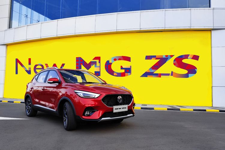 The New MG ZS