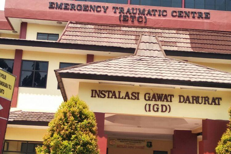 Ruang IGD RS Polri Kramat Jati, Jakarta Timur, Jumat (11/5/2018)