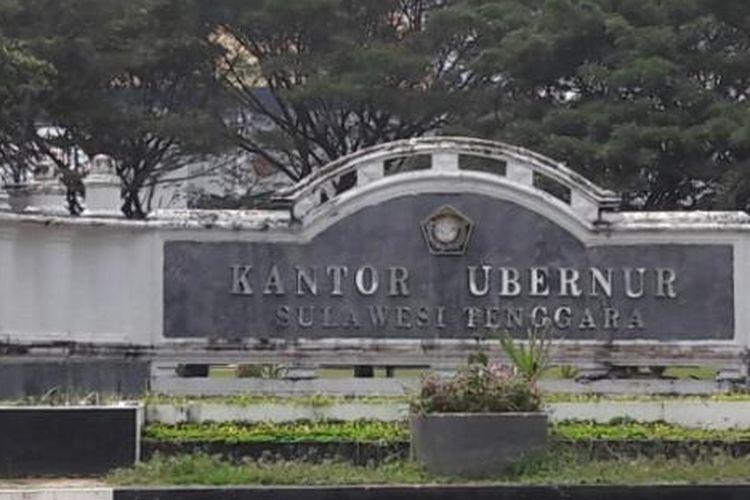 Kantor gubernur Sultra di Jalan Haluoleo Kendari, Kompleks Pamong Praja Andouhu, Kendari